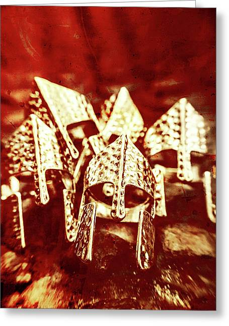 Battlefield Of Lost Empires Greeting Card