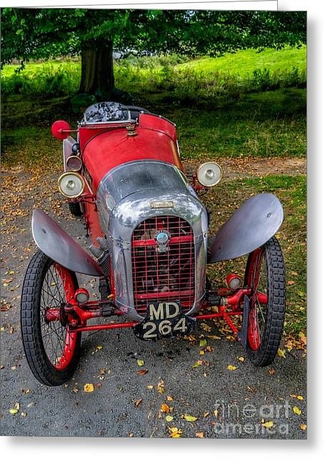 Baughan Cyclecar  Greeting Card