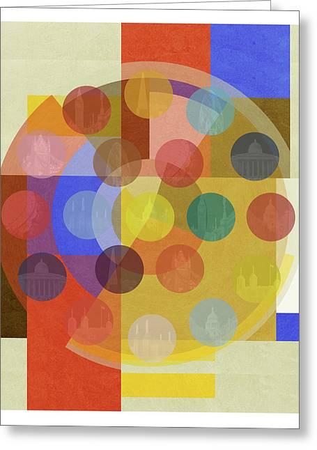Bauhaus London Five Greeting Card