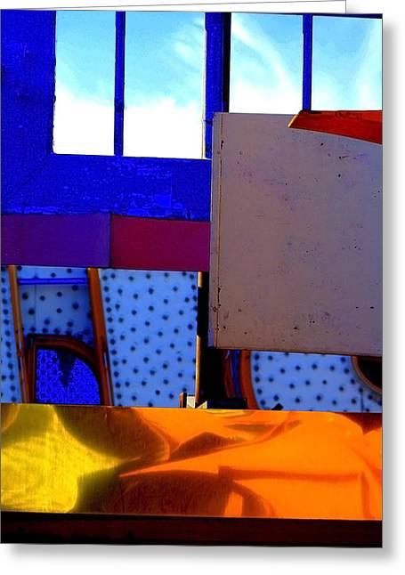 Bauhaus Greeting Card by Mauricio Jimenez
