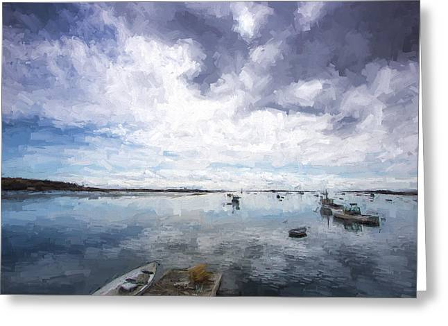 Bay Area Boats IIi Greeting Card by Jon Glaser