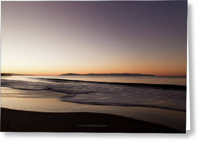 Bay At Sunrise Greeting Card by Lora Lee Chapman
