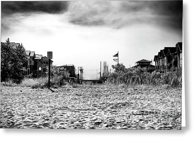 Greeting Card featuring the photograph Bay Beach by John Rizzuto