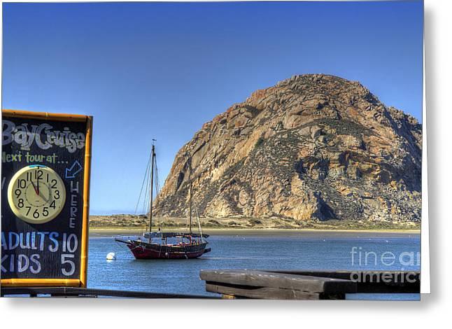 Bay Cruise At 11 Greeting Card