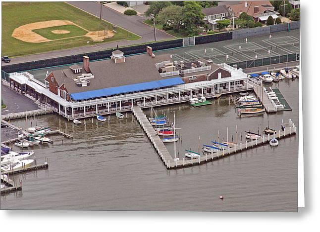 Bay Head Yacht Club Greeting Card by Duncan Pearson