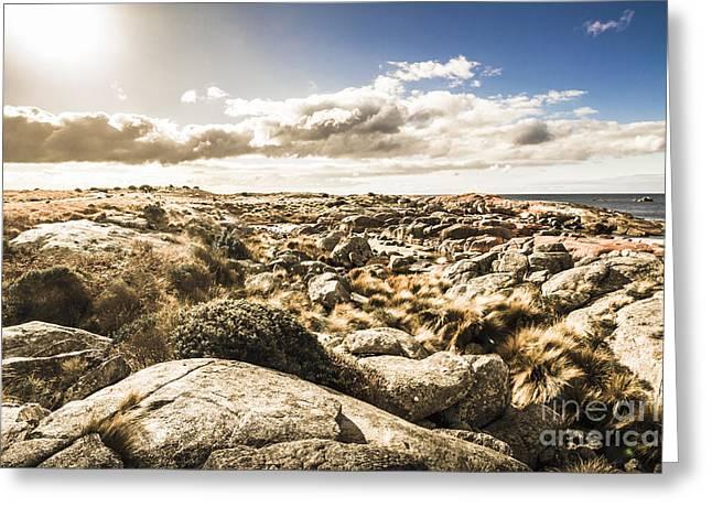 Bay Of Fires Tasmania Australia Greeting Card