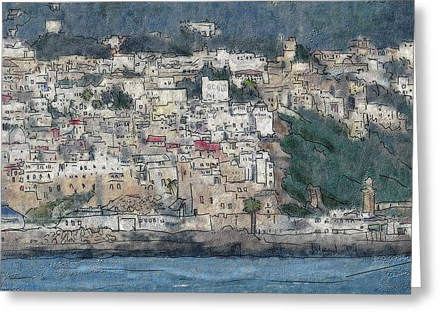 Bay Of Tangier Greeting Card