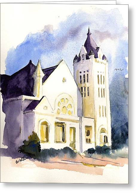 Bay Street Presbyterian Church Greeting Card