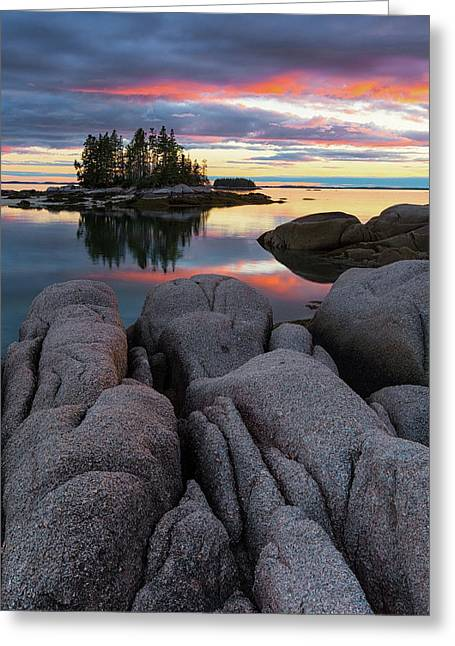 Greeting Card featuring the photograph Bay View by Patrick Downey