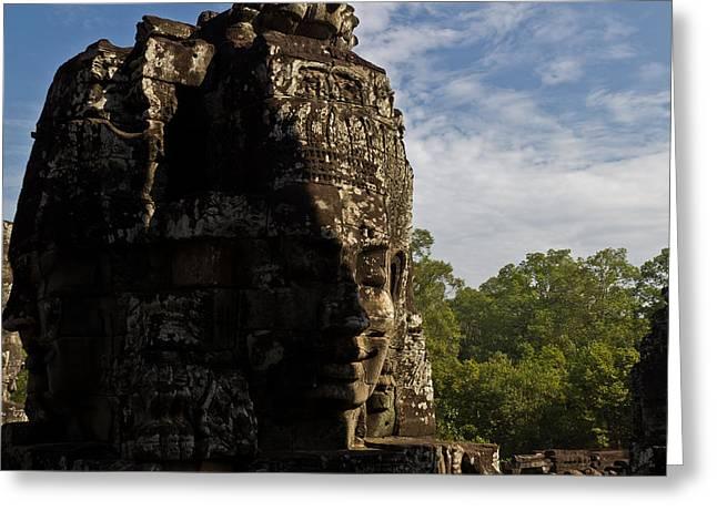 Bayon Temple, Siem Reap Greeting Card