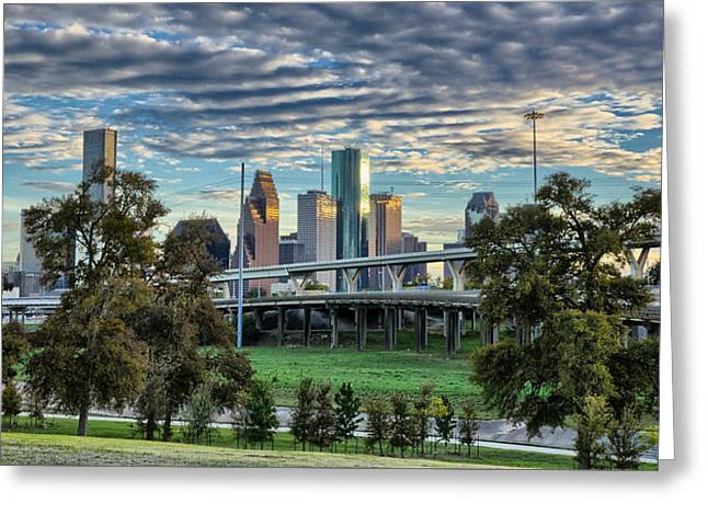 Bayou City Greeting Card
