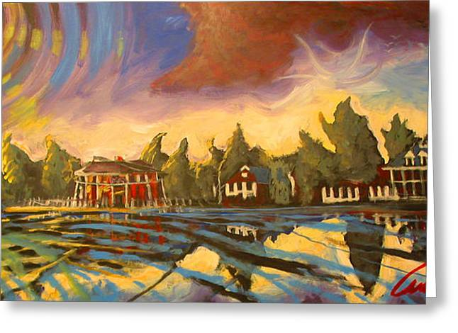 Bayou St John New Orleans Greeting Card