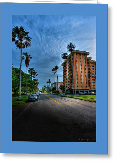 Bayside Greeting Card by Marvin Spates