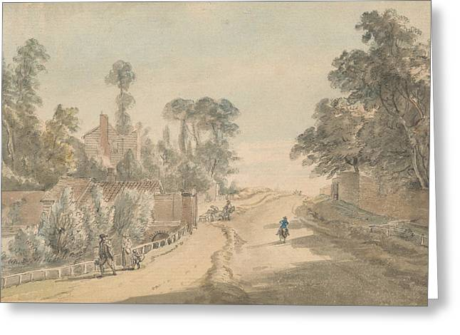 Bayswater - London Greeting Card by Paul Sandby