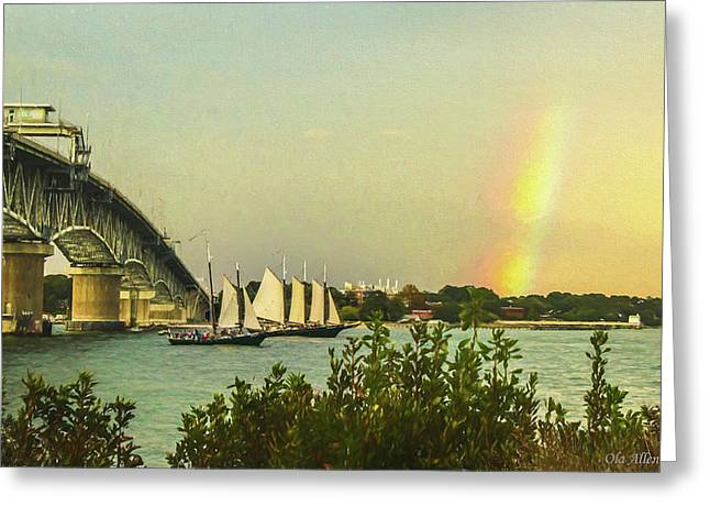 Be A Rainbow Greeting Card