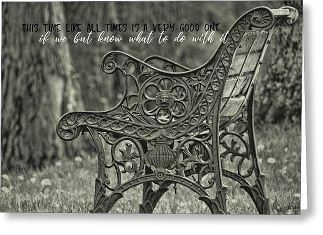 Be Aware Quote Greeting Card by JAMART Photography