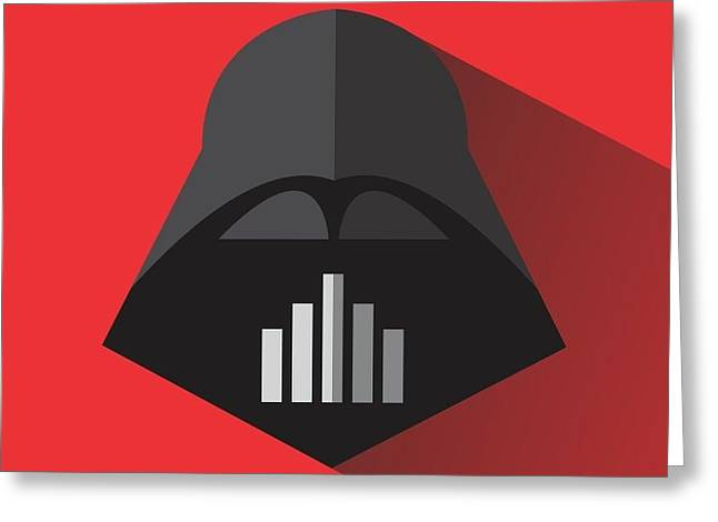 Be Darth Greeting Card by Steve Sanburn