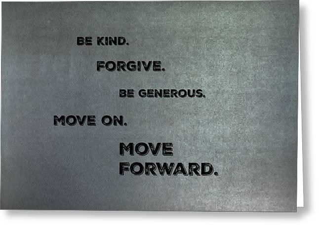 Be Kind #1 Greeting Card