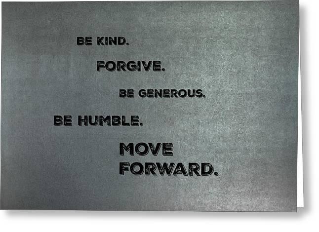 Be Kind #2 Greeting Card