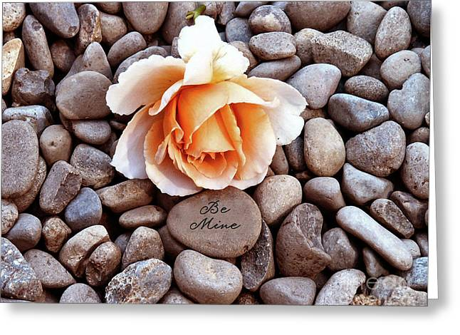 Be Mine  Greeting Card by Diane E Berry