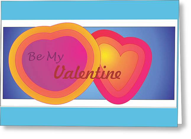 Greeting Card featuring the digital art Be My Valentine Card by Sherril Porter