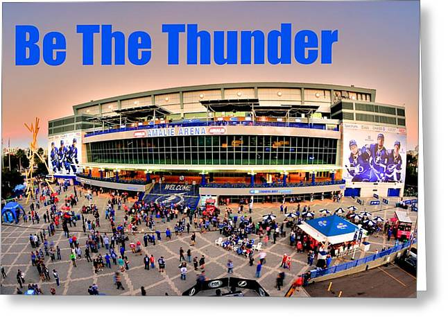Be The Thunder Greeting Card