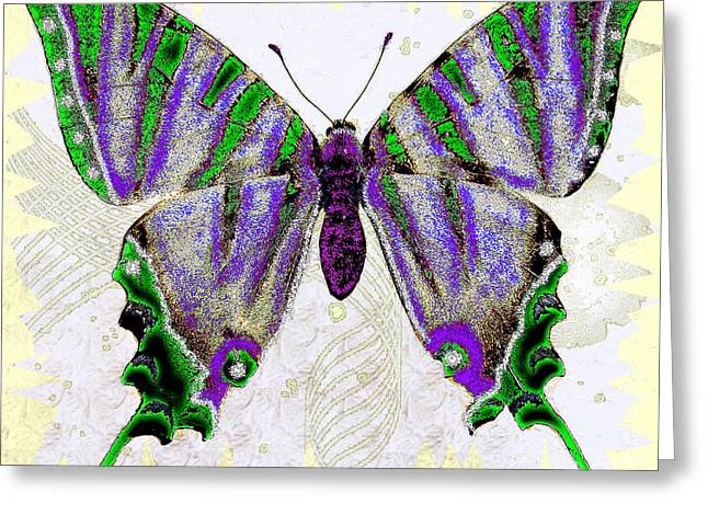 Be Who U R Butterfly Greeting Card
