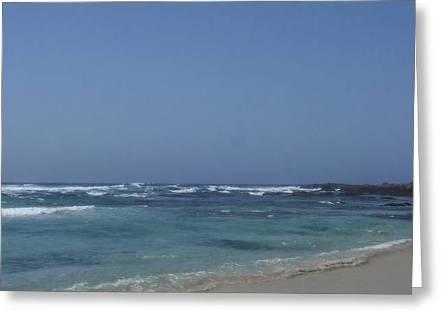 Beach 2 Greeting Card by Dawn Marie Black