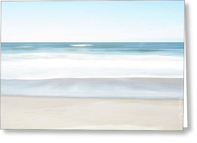 Beach Abstract Greeting Card