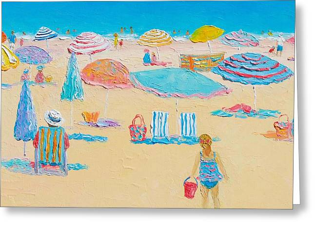 Beach Art - Every Summer Has A Story 2 Greeting Card