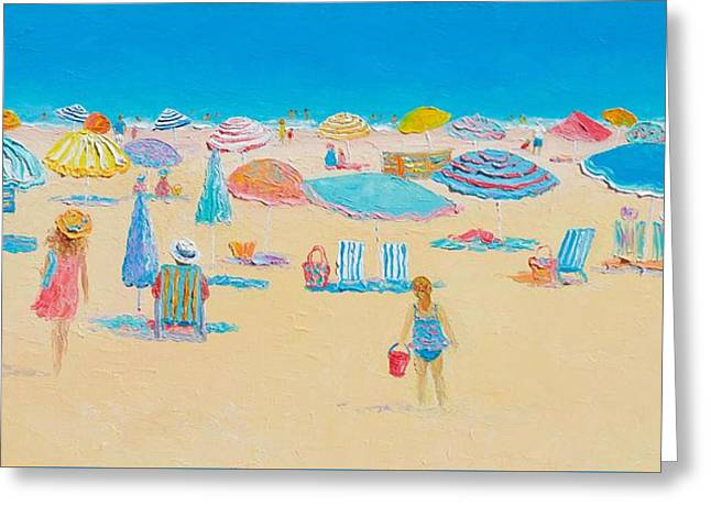 Beach Art - Every Summer Has A Story Greeting Card