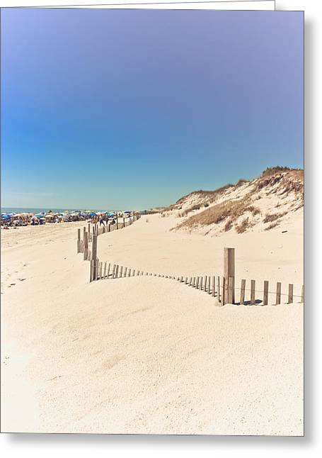 Beach Beauty Greeting Card by Colleen Kammerer