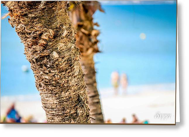 Beach Blue Greeting Card