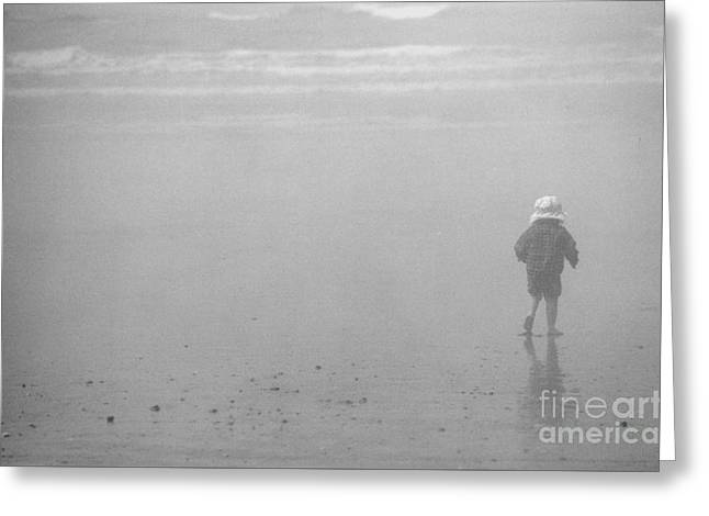 Greeting Card featuring the photograph Beach Boy by Jeni Gray