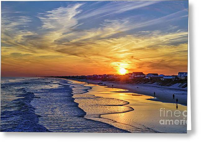 Greeting Card featuring the photograph Beach Bum by DJA Images