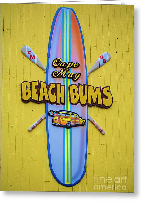 Beach Bums - Cape May Greeting Card
