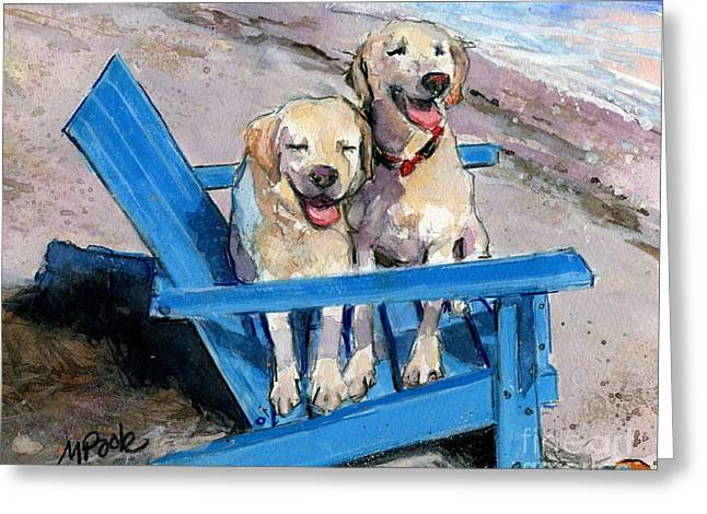 Beach Bums Greeting Card