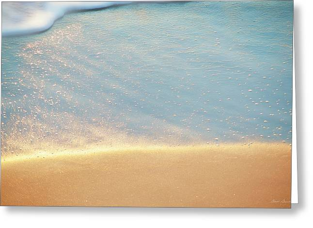 Beach Caress Greeting Card