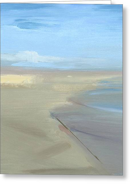 Beach Greeting Card by Chris N Rohrbach