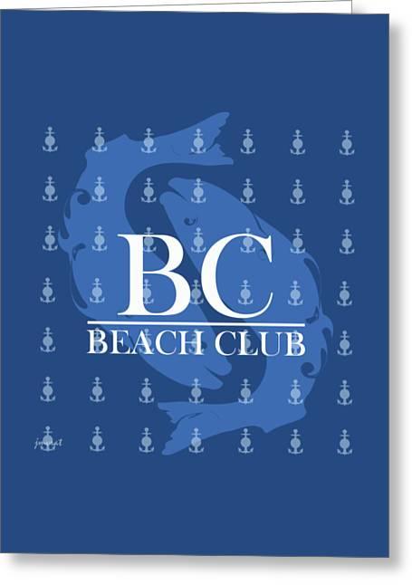 Beach Club 1 Greeting Card
