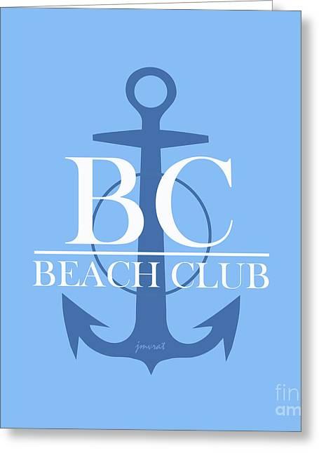 Beach Club 3 Greeting Card