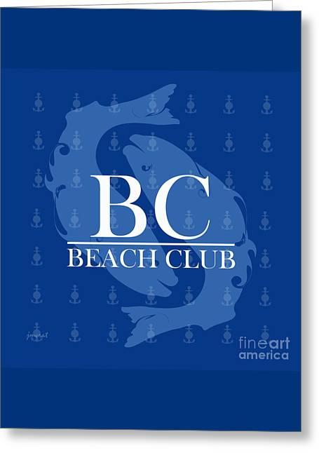 Beach Club 5 Greeting Card