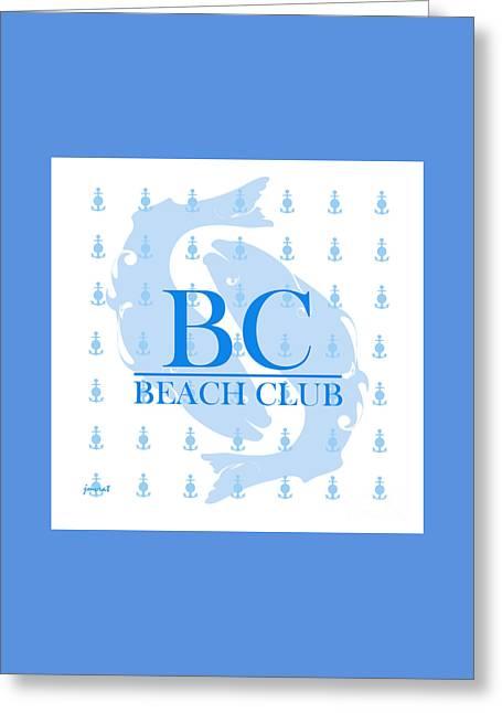 Beach Club 7 Greeting Card