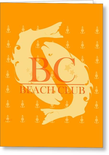 Beach Club 9 Greeting Card