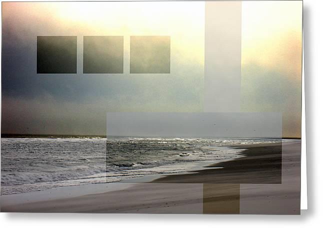 Beach Collage 2 Greeting Card by Steve Karol