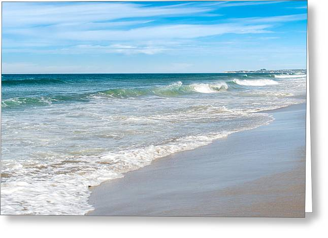 Beach Day Greeting Card by Martin Capek