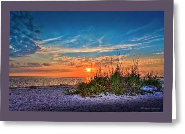 Beach Dune Greeting Card by Marvin Spates