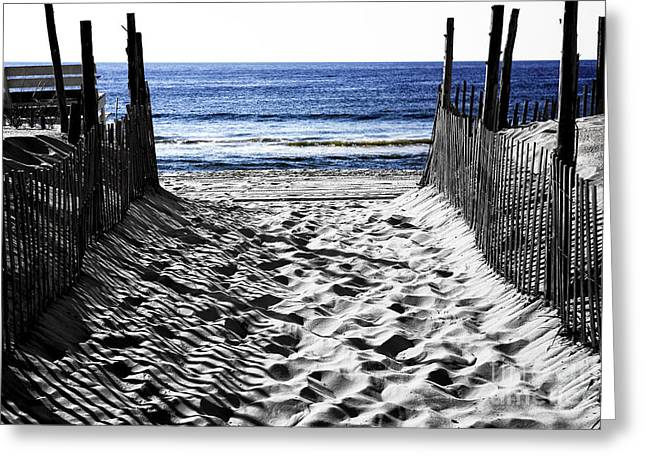 Beach Entry Fusion Greeting Card