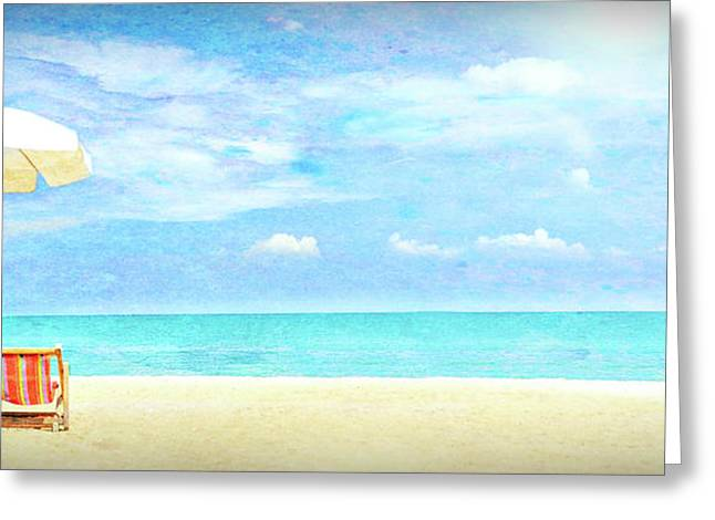 Beach For Two 5 Greeting Card
