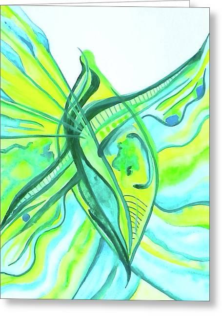 Beach Glass Dream Greeting Card